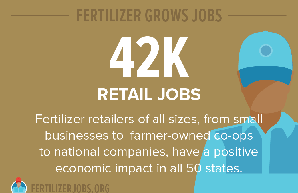 The U.S. fertilizer industry contributes $162 billion to the U.S. economy
