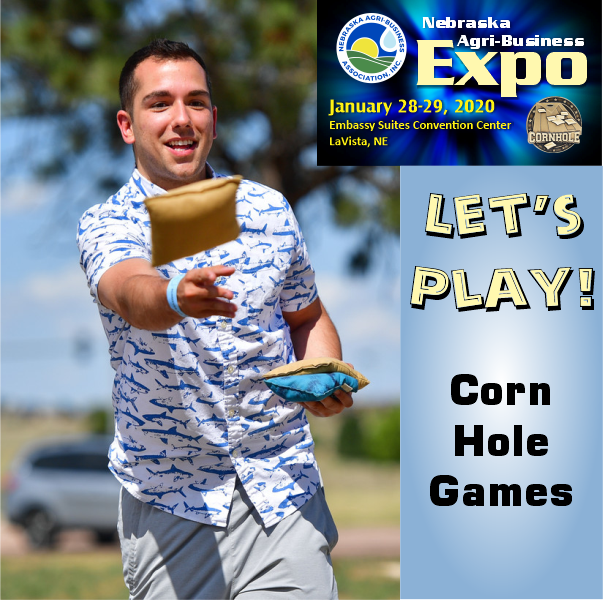 Are you ready for Expo Corn Hole Games?